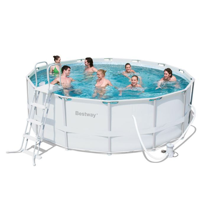 Piscine tubulaire ronde x h achat vente for Piscine tubulaire occasion