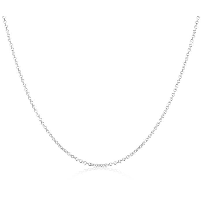 Mts Ar50-45 - Collier Mixte - Argent Fin 925-1000 4.2 Grams R65HG