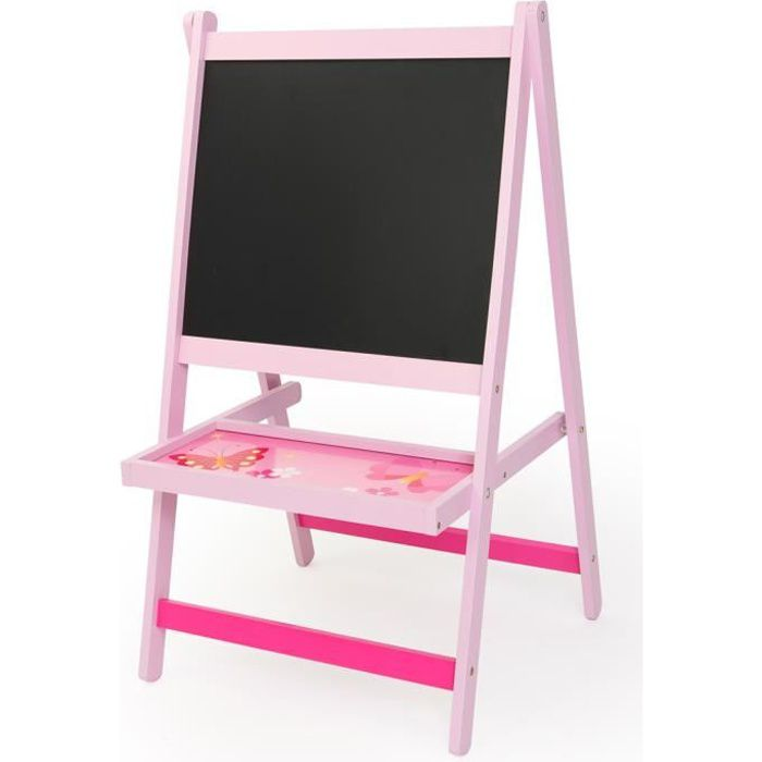 tableau pour enfant coloris rose achat vente tableau. Black Bedroom Furniture Sets. Home Design Ideas