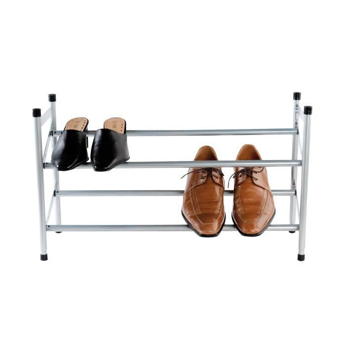 rangement chaussures telescopique achat vente. Black Bedroom Furniture Sets. Home Design Ideas