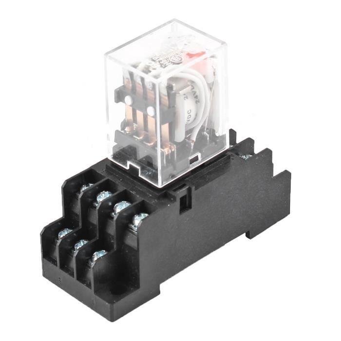 1 x LEG-12 Relais 12VDC; 10A//120VAC; 10A//24VDC électromagnétique; inverseurs; ucoil