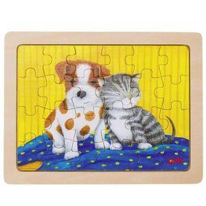 PUZZLE Puzzle enfant 3 ans Puzzle en bois Animaux chien e