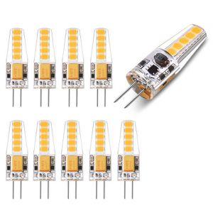SPOTS - LIGNE DE SPOTS Wowatt 10x Ampoule LED G4 12V 2W équivalent 20W Bl