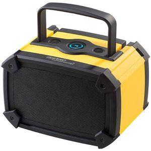 ENCEINTE NOMADE Haut-parleur nomade Bluetooth de chantier Auvisio