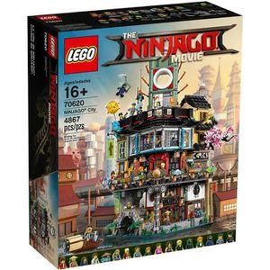 ASSEMBLAGE CONSTRUCTION LEGO® NINJAGO LE FILM™ 70620 La ville NINJAGO® - J