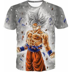 T-SHIRT T Shirt Vintage Homme Dragon Ball Z Goku Kakarotto