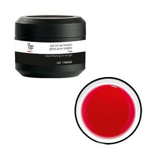 Gel UV Ongles de Finition Gloss Rose 50 Grs Peggy