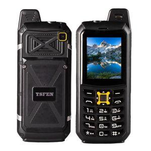 Téléphone portable Téléphone Incassable Antichoc Triple Proofing Phon