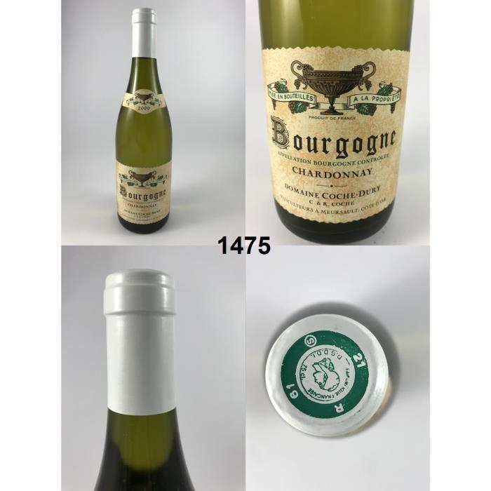 Bourgogne Chardonnay - Coche-Dury 2009 - N° : 1475, Bourgogne, Blanc