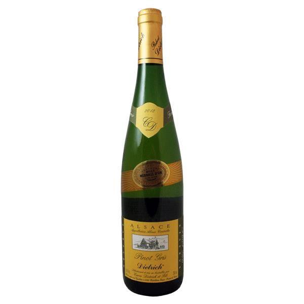 Vin d' Alsace Pinot Gris millésimé 2013 Dietrich