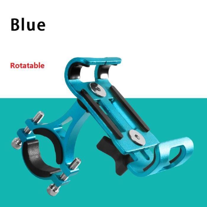 Tout alliage d'aluminium Mobile support pour téléphone support montagne pour vélo support pour téléphone vt90860Blue Rotatable