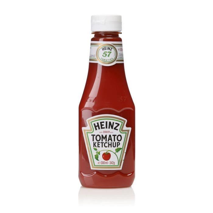 Tomato ketchup souple - 342g