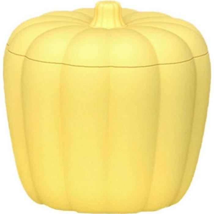 Seau à glace Ice Cube Maker Ice Maker seau avec couvercle 60 cubes en bouteille boissons Cooler jaune