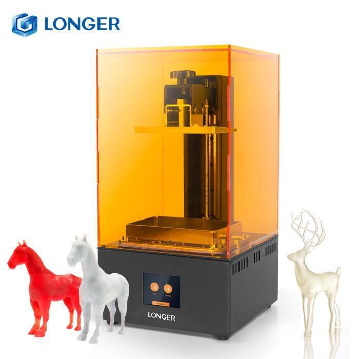 LONGER Orange 30 UV Imprimante 3D Photopolymérisable 2K LCD Haute Résolution Écran tactile 2,8 pouces ImpressionTaille 120*68*170mm