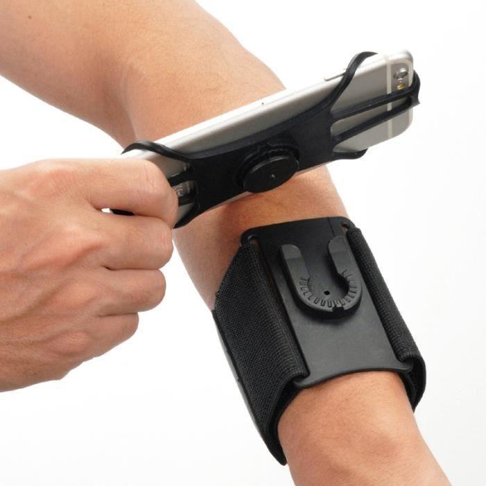 Universel étanche Gym course à pied sport brassard couverture support bras bande poignet étui sac pour 4 à 6,5 pouces téléphone