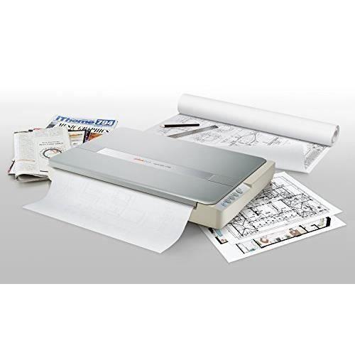 Plustek Os1180 Scanner à Plat pour Graphiques et Documents au Format A3 Conception adaptée aux bibliothèques, écoles ou Petits Bur