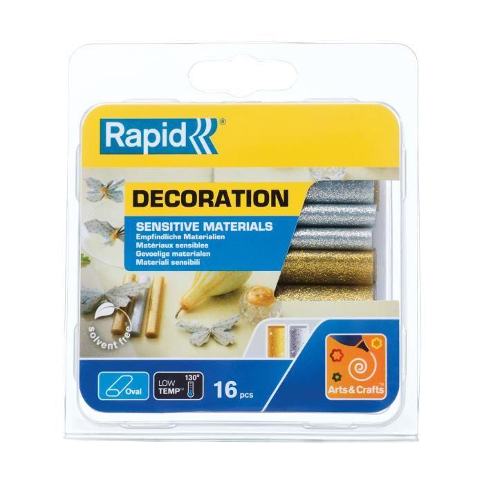 RAPID D9mm Basse température - Paillettes silver-gold - 125g - 40108463