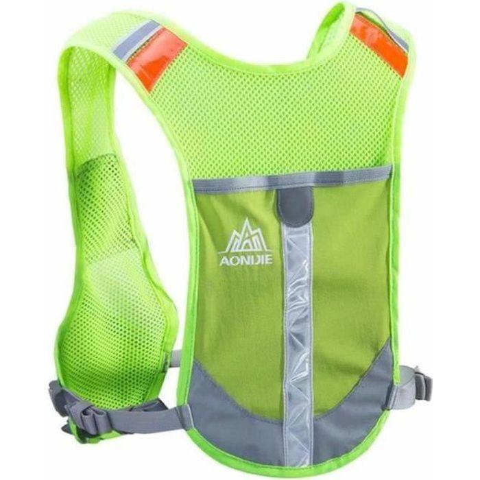 BIR19191-Gilet de Course réfléchissant Gilet d'hydratation Sac d'hydratation Sac à Dos pour Marathoner Running Race Cycling - G