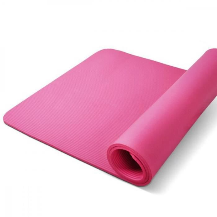 185cm tapis Yoga antidérapant épais Sport Gym tapis Pilates doux ...