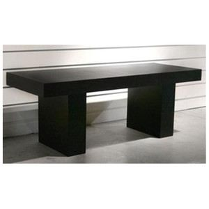 Table de salle manger design 2m achat vente table a for Table de salle a manger 6 personnes