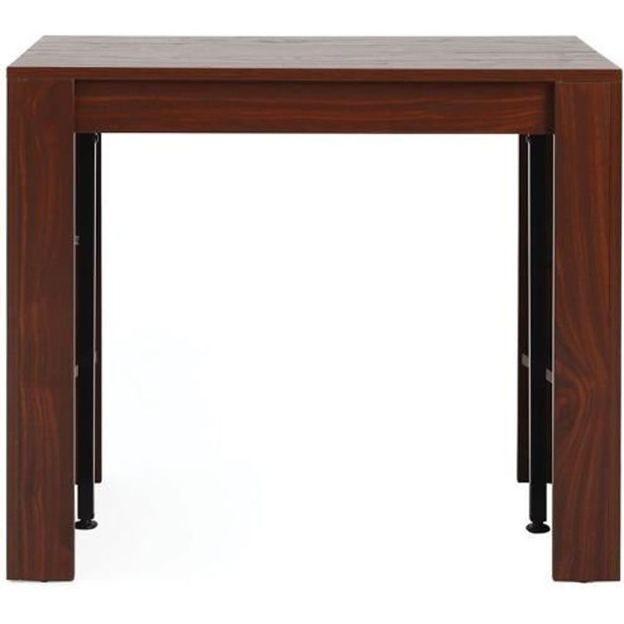 Table console extensible noyer caleb achat vente console extensible caleb - Console extensible cdiscount ...