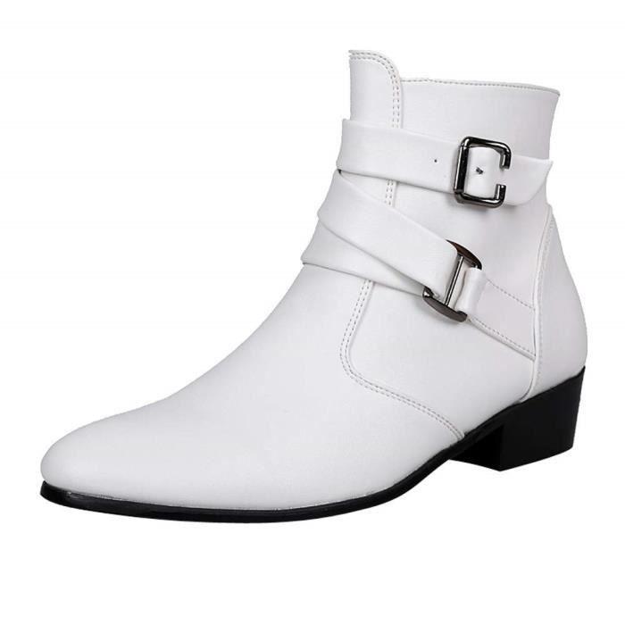Chaussures Pour Homme En Cuir Bottines Chelsea n0wP8Ok