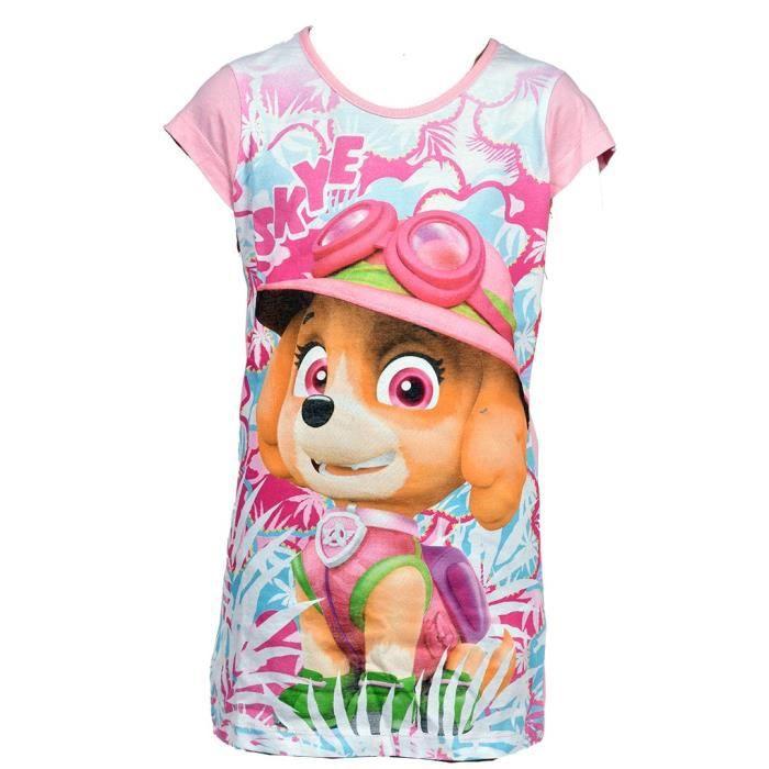 Paw Patrol Pyjama court pour fille avec t-shirt