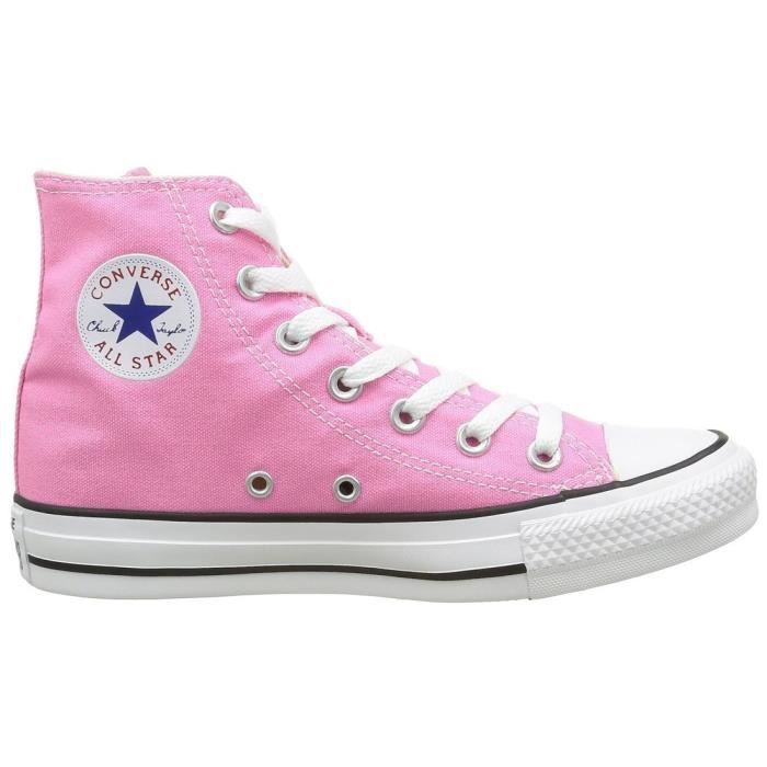 baskets mode ctas core hi ox femme converse all star hi f 41 Rose