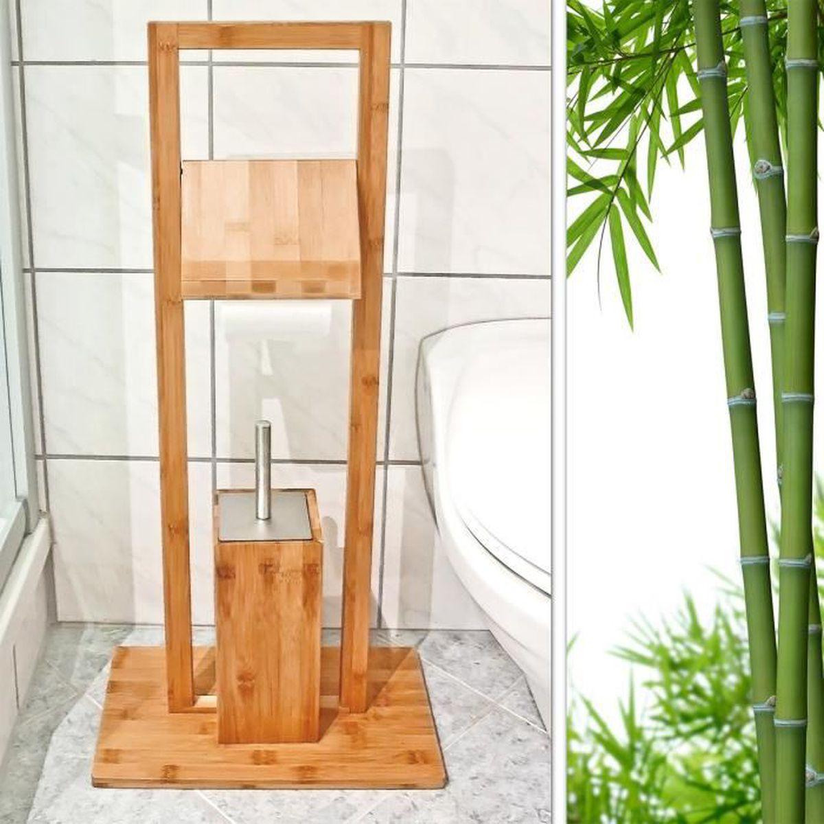 Fabriquer Un Dévidoir Papier Toilette brosse de wc avec porte-rouleau