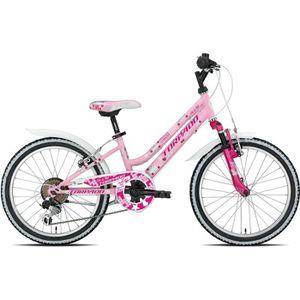VTT TORPADO Vélo enfant Maja 20'' - cadre acier - 6 vi