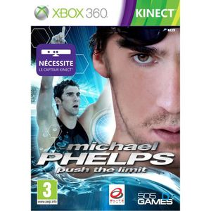JEUX XBOX 360 PHELPS PUSHING THE LIMIT KINECT / Jeu console X360