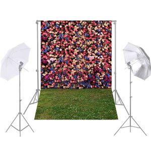 PANIER A LINGE Andoer 1.5 * 2.1 m Photographie Fond Jardin Fleur