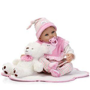 POUPON Réaliste Baby Doll 55cm Nouveau-né Poupée Enfants