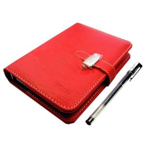 CARNET DE NOTES Simple Covering Notebook en cuir, Business Noteboo