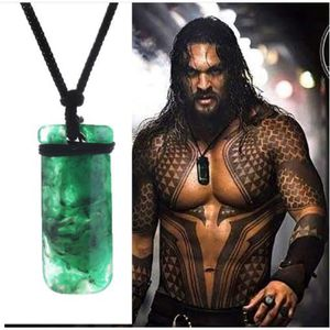 BIJOUX DÉGUISEMENT 2018 Aquaman Cosplay Arthur Curry Collier Vert Pen