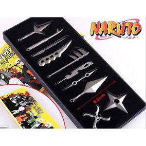 ESPION 10pcs Naruto Sasuke épée Zabuza Hidan Asuma Mini