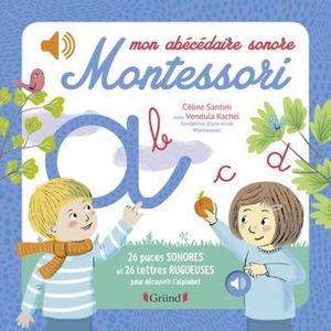 LIVRE 0-3 ANS ÉVEIL Livre - mon abécédaire sonore Montessori