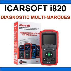 OUTIL DE DIAGNOSTIC ★ ICARSOFT I820 ★ VALISE DIAGNOSTIC AUTO MULTIMARQ