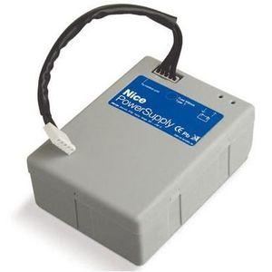 ACCESSOIRE DE PORTAIL NICE PS124 Batterie 24V avec chargeur de batterie