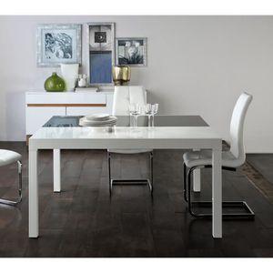 TABLE À MANGER SEULE Table de repas extensible - UMALA - L 140 x l 140