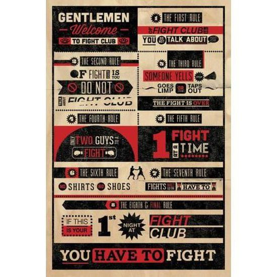 coque iphone 8 fight club rules