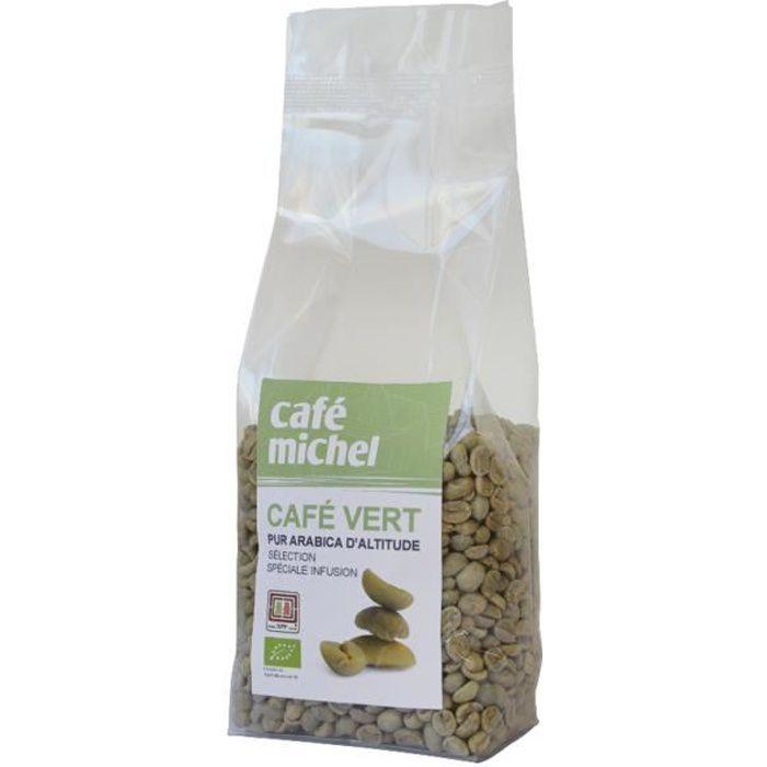 CAFE MICHEL+Café vert d'Altitude pur arabica 250 g