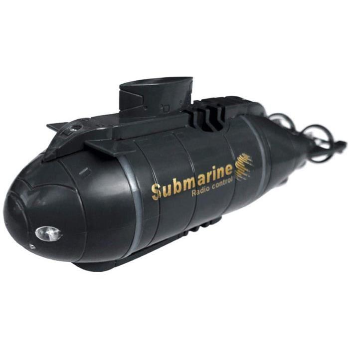 N-Y Mini sous-Marin RC, sous-Marin radiocommandé pour Enfants, Jouet de plongée sous-Marine électrique de Simulation de Bateau[123]
