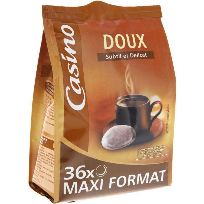 Dosettes à Café Arabica Doux x36 250 g