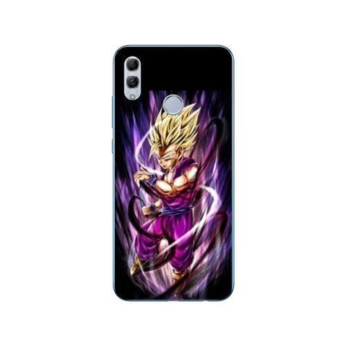 Coque Huawei Honor 10 Lite / P Smart (2019) Manga Dragon Ball Sangohan violet taille unique