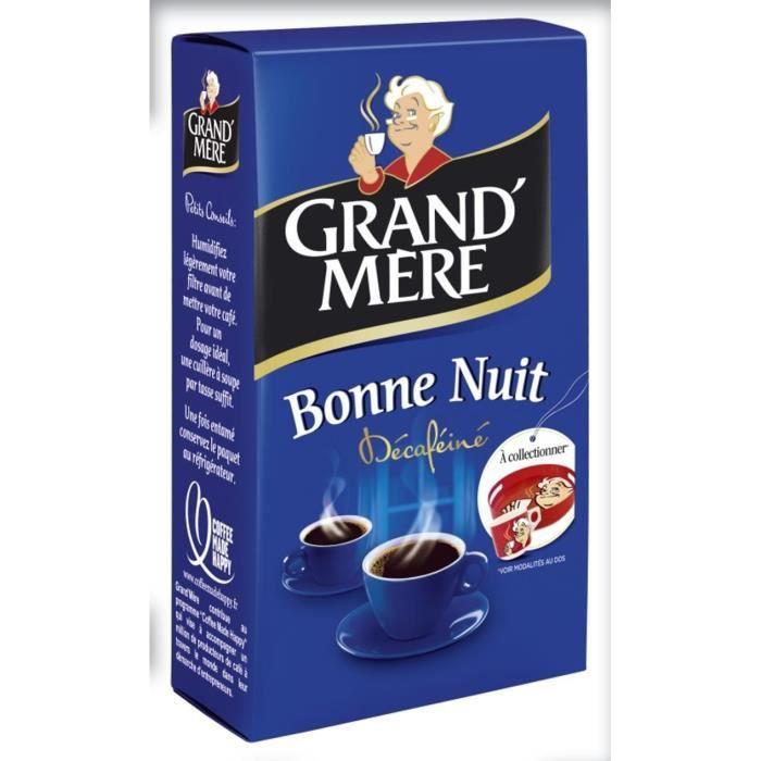 GRAND'MERE Bonne nuit Décaféine - Café moulu - 250 g
