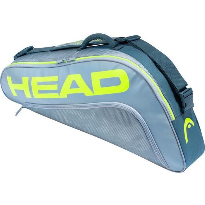 Sac de Tennis Head Tour Team Extreme 3R Pro - Couleur:Gris Type Thermobag:3 raquettes
