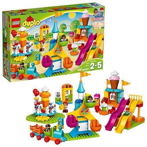 LEGO Duplo Town Big Fair 10840 Building Kit, Multi