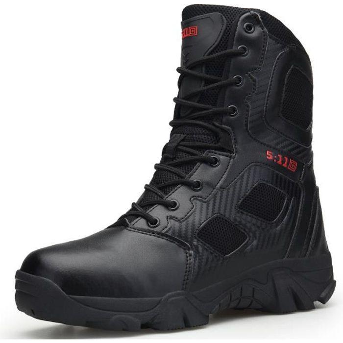 Bottes Militaires - Chaussures de Combat - de Tactique - de Patrouille - Armée