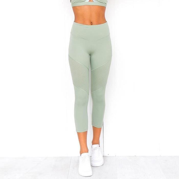 Textile Fitness - Danse,Ensembles de Yoga femmes vêtements de Sport vêtements de Sport femmes ensemble Yoga Leggings - Type Pants